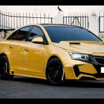 Chevrolet Cruze Project 'Yellow Transformer' front three quarter