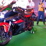 DSK Benelli 302R front three quarters left side Indian launch