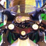 DSK Benelli 302R handlebar Indian launch