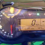 DSK Benelli 302R instrument panel Indian launch