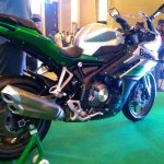 DSK Benelli 302R rear three quarters right side Indian launch