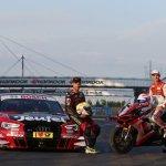 DTM Lausitzring 2015 Audi and Ducati