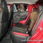 Datsun Redi-GO 1.0L rear seats