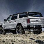 Ford Bronco 4-door rear three quarters rendering second image