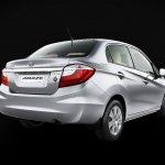 Honda Amaze Privilege Edition rear three quarter