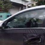Hyundai Verna Spy Shot Cabin