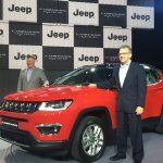 Jeep Compass India Price Launch Red