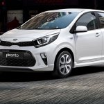 Kia Picanto South Africa studio front three quarter