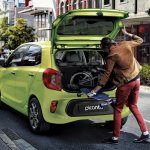 Kia Picanto South Africa studio rear boot space