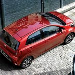 Kia Picanto South Africa studio rear three quarter