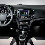 Lada XRAY Exclusive edition dashboard