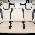 Lada XRAY Exclusive edition rear seat