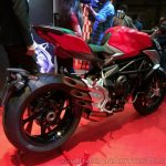 MV Agusta Brutale 800 India launch rear three quarter