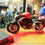 MV Agusta Brutale 800 India launch side