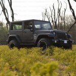 Mahindra Thar to Jeep Wrangler Conversion by Jeep Studio Front Three Quarters