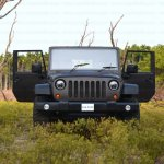 Mahindra Thar to Jeep Wrangler Conversion by Jeep Studio Front View