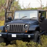 Mahindra Thar to Jeep Wrangler Conversion by Jeep Studio Front