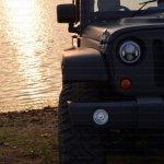 Mahindra Thar to Jeep Wrangler Conversion by Jeep Studio Headlamp