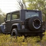 Mahindra Thar to Jeep Wrangler Conversion by Jeep Studio Rear Three Quarters