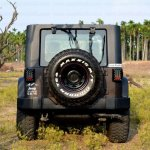 Mahindra Thar to Jeep Wrangler Conversion by Jeep Studio Rear View