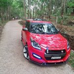 Maruti Swift modded Nissan GT-R front