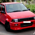Maruti Zen Project POCKET ROCKET Modsters Automotive front quarter
