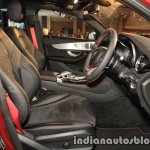 Mercedes-AMG GLC 43 4MATIC Coupe front seats
