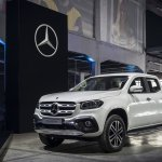 Mercedes X-Class Power front three quarters