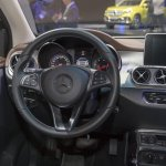 Mercedes X-Class dashboard driver side