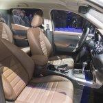 Mercedes X-Class front seats