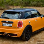 Mini Cooper S with JCW Tuning Kit 2017 rear three quarter Review