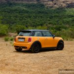 Mini Cooper S with JCW Tuning Kit 2017 rear three quarter far Review