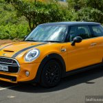 Mini Cooper S with JCW Tuning Kit front three quarter left 2017 Review