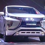 Mitsubishi Expander MPV Unveiled Front Three Quarters