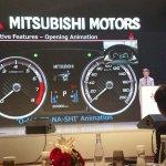 Mitsubishi Expander MPV Unveiled Instrument Console