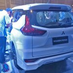 Mitsubishi Expander MPV Unveiled Rear Three Quarters