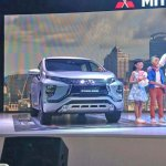 Mitsubishi Expander MPV Unveiled Right Front Three Quarters