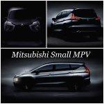 Mitsubishi Expander (Mitsubishi XM production) tease front side and rear