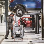NEXA Service workshop Maruti S-Cross servicing