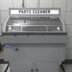 Parts cleaner at NEXA Service