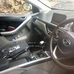Production-spec Tata Nexon interior spotted up close