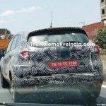 Renault Captur (Renault Kaptur) exterior spy shot India