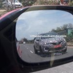 Renault Captur (Renault Kaptur) front three quarters right side spy shot India