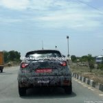 Renault Captur (Renault Kaptur) rear close spy shot India