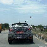 Renault Captur (Renault Kaptur) rear close spy shot India