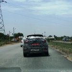 Renault Captur (Renault Kaptur) rear spy shot India