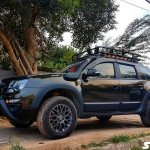 Renault Duster off-road with 150 hp engine remap