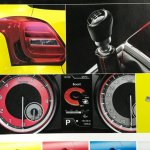 Suzuki Swift Sport Catalogue Leaked Image Instrument Console