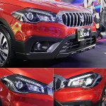 Taiwanese-spec 2017 Suzuki SX4 (2017 Maruti S-Cross) front fascia