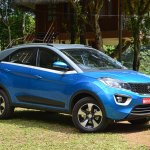 Tata Nexon Review Test Drive Front Three Quarters